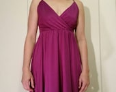 Nobody Puts Baby In A Corner!  Purple Dress for Dancing Dirty.