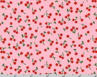 Sevenberry Petite Classiques - Cherries Pink from Robert Kaufman