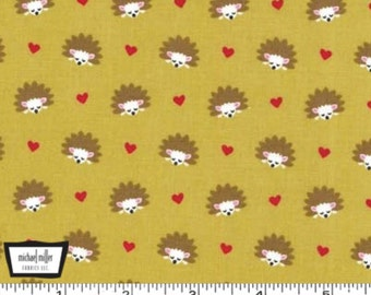 Fox Woods - Hedgehog Heaven Olive from Michael Miller