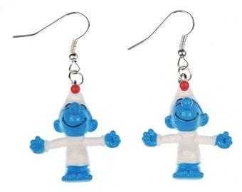 Smurf earrings comic animation