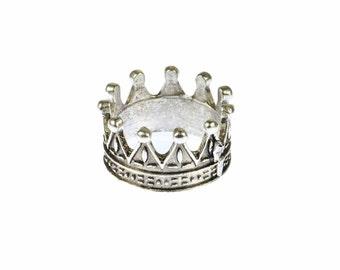 [BUNDLE] Mr ring ring Crown silver Crown ring 19 mm