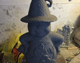 Ceramic bisque ghost to paint