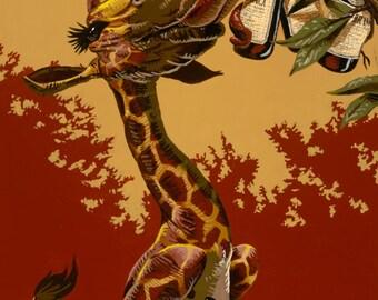 Fernet Branca Giraffe