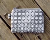 Zipper Coin Purse / Coin Pouch