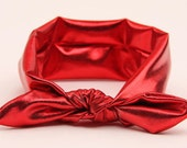 30% off entire order,Baby girl Headbands, toddler headband, baby headband, newborn headband...baby Red headwrap
