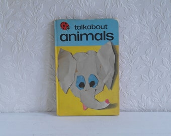 Vintage Ladybird Books Series 735 Talkabout Animals 1973