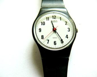 Swatch watch women's early Swatch Ebauche original model Swatch Fashionable Swiss watch Model S513