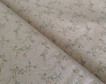 Tan with yellowish- tan flowers and green stems Tavern Collection by Paula Barnes for Marcus Brothers
