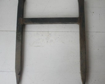 Antique Cast Iron Boot Scrapper
