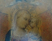 Antique Orthodox Icon 1800's