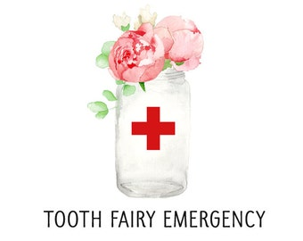 Tooth Fairy Pillow Loose Tooth Emergency - Rush Add On To Order