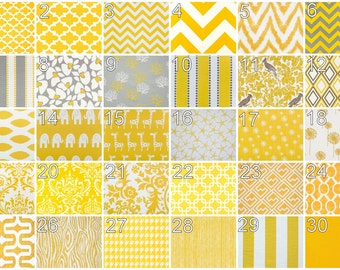 Contemporary Window Valance- Premier Prints Corn Yellow Valance- 50x16 inch- You Choose Fabric- Kitchen Window Treatment- Custom Shade