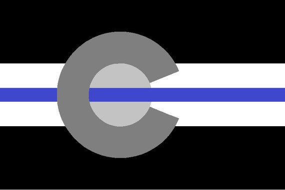 thin blue line etsy