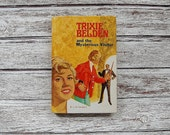 Trixie Belden and The Mysterious Visitor, Mystery Books, Young Adult Books, Julie Campbell