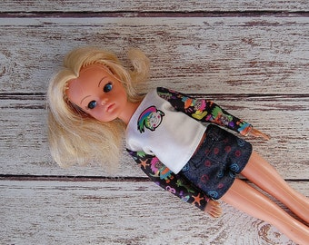 Vintage Sindy Doll, 80's Blonde Sindy Doll, Vintage Dolls