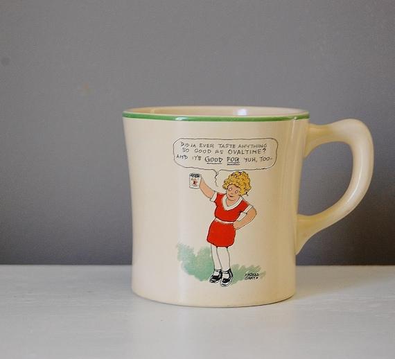 Ovaltine mugs