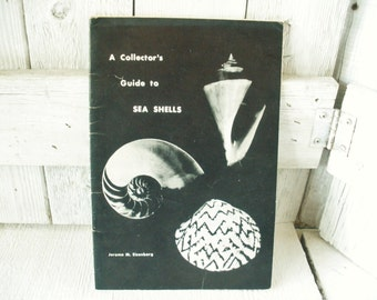 Vintage book Collectors Guide to Sea Shells field guide identification 1974