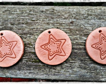 Terra cotta star essential oil diffusers