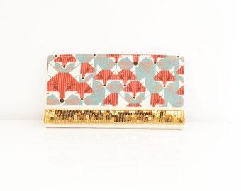 Checkbook holder in cotton style 15SE24