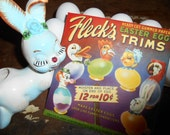 1940s New Old Stock Fleck's Easter Egg Trims NOS