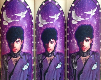 Prince Pop Culture Prayer Candle (1)