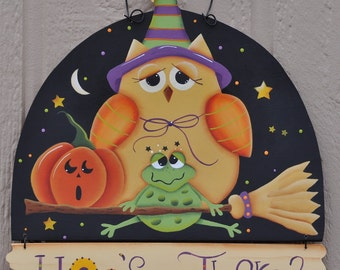 Hoos there owl and frog