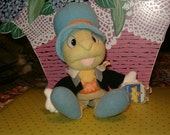 Vintage Jiminy Crickett with Star Bean by Disney, So Adorable and Clean
