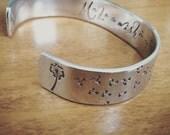 Make a Wish...cuff bracelet...