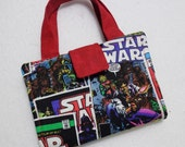 Star Wars Fabric Print Crayon Wallet. Free USPS First Class Shipping/ Ready to ship.