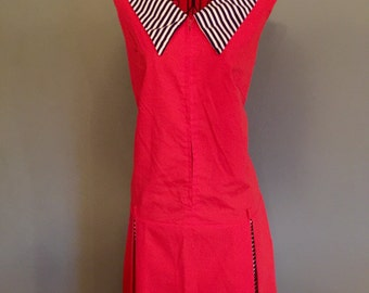 1920's drop waisted dress, size M