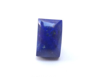 Lapis Lazuli with Pyrite Rectangular Cabochon, 15mm x 9.5mm, LLC007