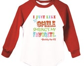 I Just Like To Smile, Smiling's My Favorite- Long Sleeve T-Shirt