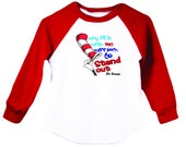 Why Fit in when you were born to stand out - Long Sleeve T-Shirt
