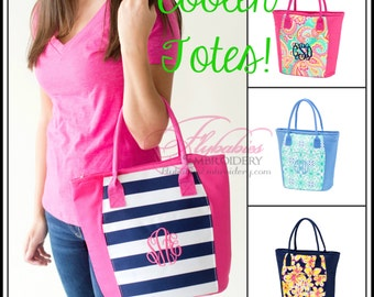 Personalized Cooler ~ Monogrammed Cooler ~ Personalized Lunch Tote