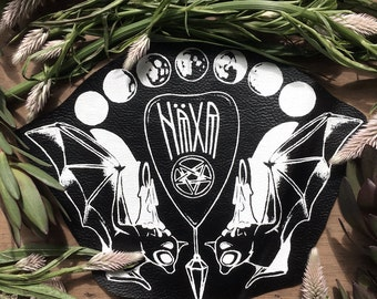 The Candle Bearers Planchette Vegan Leather Back Patch
