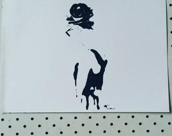 Audrey/ VINTAGE Prints for girls