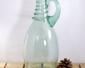 Blown Glass Jug