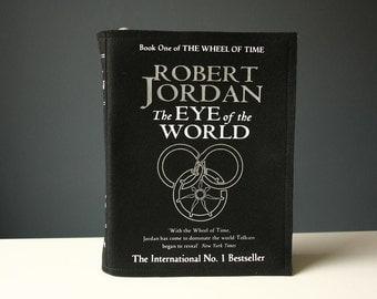 The Eye of the World Book Bag Robert Jordan Felt Book Purse