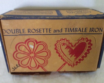 Double Rosette And Timbale Patty Shell Cast Aluminum