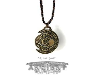 ANCIENT Rising Sun Amulet