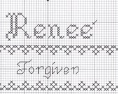 Custom Designed Cross Stitch - Renee'  with Bible Meaning .pdf