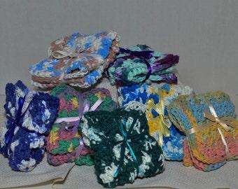 Cotton Crochet Dishcloth Washcloth