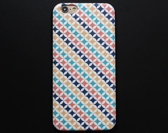 iPhone 6 case leather & silicon iPhone 6s case Painted iPhone 6 cover - PU6007