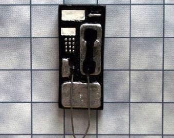 Dolls House Miniature Pay Phone