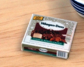 Dolls House Miniature Haagen Dazs