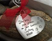 Pet Memorial Ornament - Personalized Ornaments - Memorial Gifts