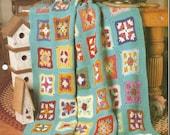 The Needlecraft Shop Crochet Afghan Collector Series Patchwork Quilt Pattern