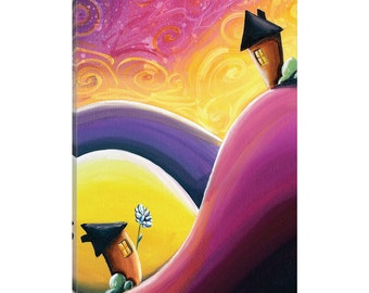 iCanvas One Song Gallery Wrapped Canvas Art Print by Cindy Thornton