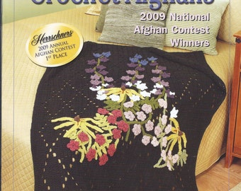 Herreschners Award Winning Crochet Afghans Crochet Pattern Booklet 2009