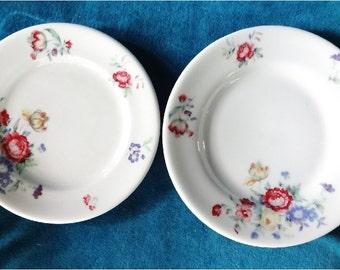 2 Small Shenango Restaurant Ware Plates